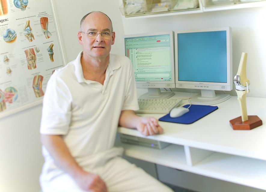 Businessportrait: Doktor | Fotostudio Lhotzky