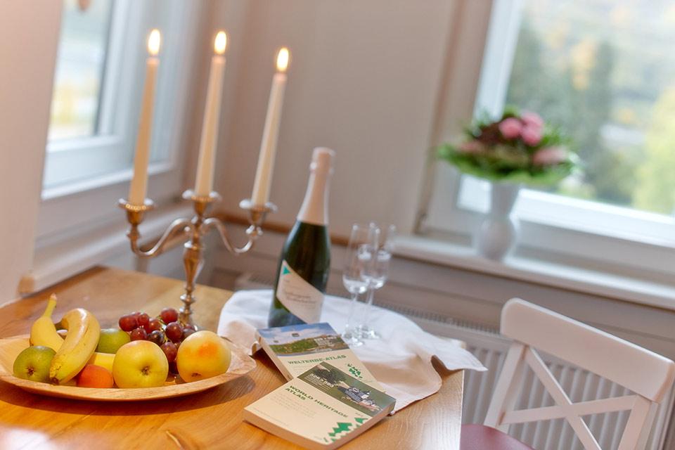 Hotel und Gastronomie: Tisch mit Früchten | Fotostudio Lhotzky