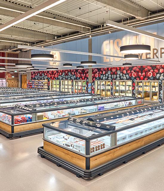 Industriefotografie: Supermarkt | Fotostudio Lhotzky